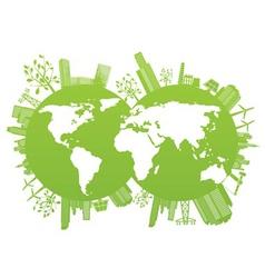 Environment planet vector