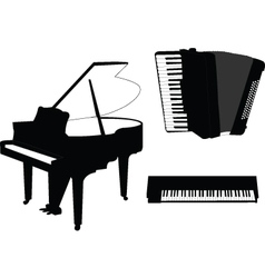 Music instruments - vector