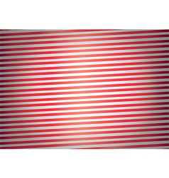 Red stripes background vector image vector image