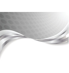 vector silver background vector image vector image