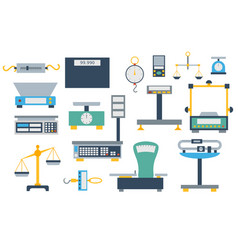 Weight measurement instrumentation tool vector