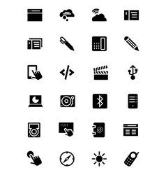 Communication icons 6 vector