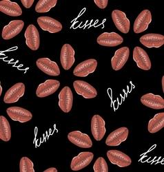 love flower seamless vector image