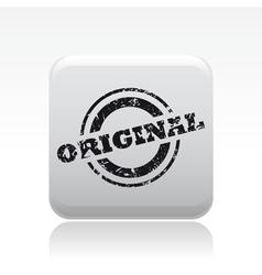 original print icon vector image