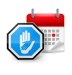 Day of help icon vector