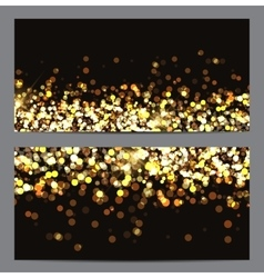 Gold Paint Glittering Textured Art vector image