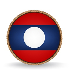 Laos seal vector
