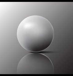 Light and Shadow Ball Circle vector image vector image