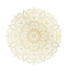 Mandala ornament vintage decorative elements vector