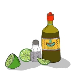 Mexican traditional drink vector image vector image