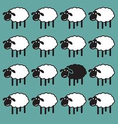 Sheep concepts vector