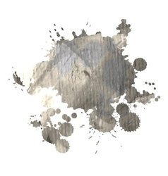 Grunge watercolor spot for design vector image