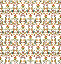 background with seamless pattern five vector image vector image