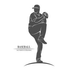 baseball players sport vector image
