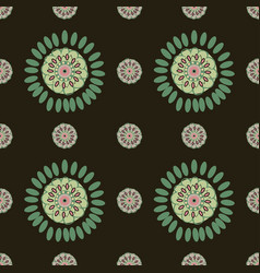 Ethnic colorful pattern backgrounds vector