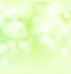 Green sweet bokeh out of focus background vector