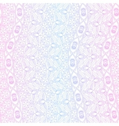 Indian pink and blue seamless pattern vector image