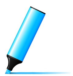 marker felt pen vector image vector image