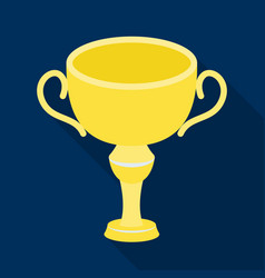 silver award winner of the competitionthe cup for vector image
