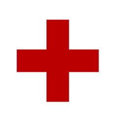Symbol of medicine cross vector