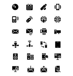 Communication icons 7 vector