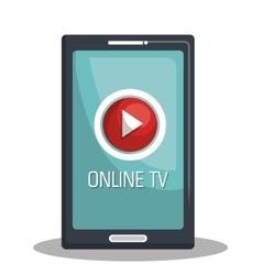 Tv live stream vector
