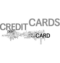 Which type of credit card to choose text word vector