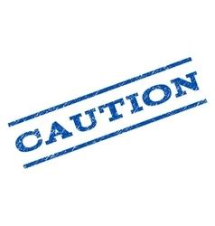 Caution Watermark Stamp vector image
