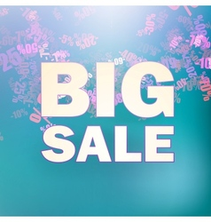 Sale message background vector