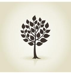 Tree wood3 vector image