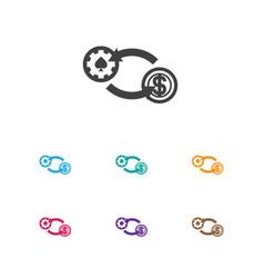 of business symbol on exchange vector image