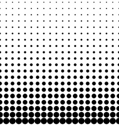 Geomentic background halftone vector