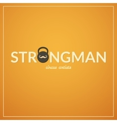 Strongman logo vector