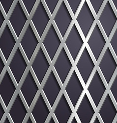 Steel geometric background vector