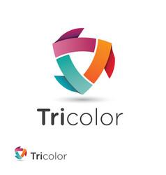 V 000185 tricolor vector
