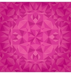 Pink magenta crystal triangles texture vector