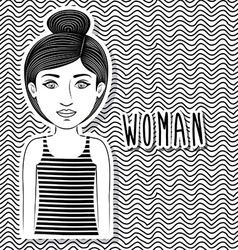 Woman design vector
