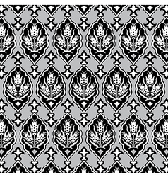 background with seamless pattern four vector image vector image