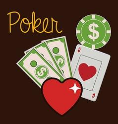 casino games design vector image