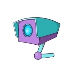 Cctv camera icon cartoon style vector