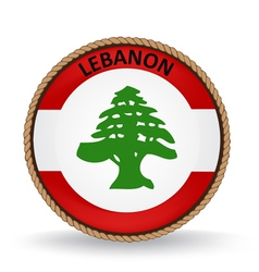 Lebanon seal vector