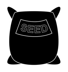 Seed sack vector