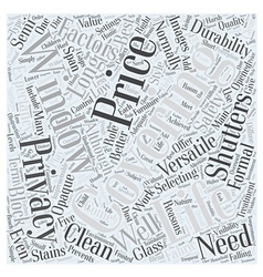 Selecting the coverings word cloud concept vector