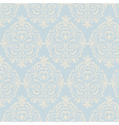 Classic style floral pattern vector
