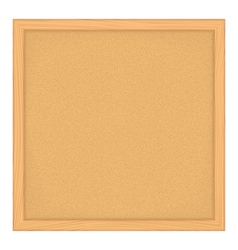 Bulletin Board vector image