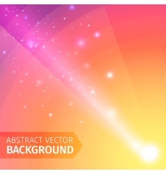 Soft colored abstract background with beam light vector