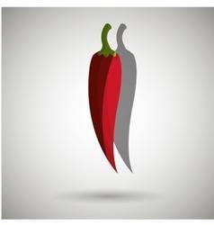 Fresh vegetables design vector