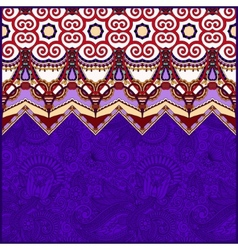 Moroccan violet colour template with place for vector