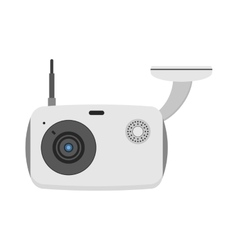 Web camera online isolated on vector image