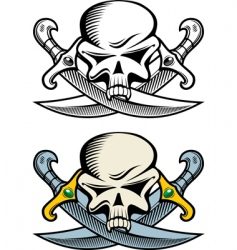 pirate symbol vector image
